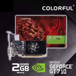 Colorful GT710-2GD3-V 2GB GDDR3 pci_Express_x8 Graphics Card