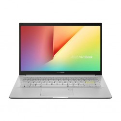 ASUS VivoBook Ultra K14 (2021), AMD Ryzen 7 5700U, 14-inch FHD Thin and Light Laptop (8GB RAM/512GB SSD/Integrated Graphics/Office 2019/Windows 10/Transparent Silver/1.4 Kg), KM413UA-EB703TS