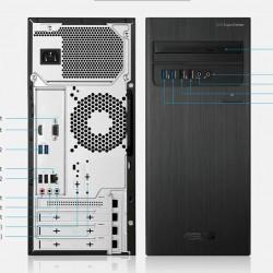 ASUS Desktop D300TA CORE I3-10100/500GB/4GB/DVDRW/WIN10WIFI/3 Year WARRANTYBLACK Without TFT